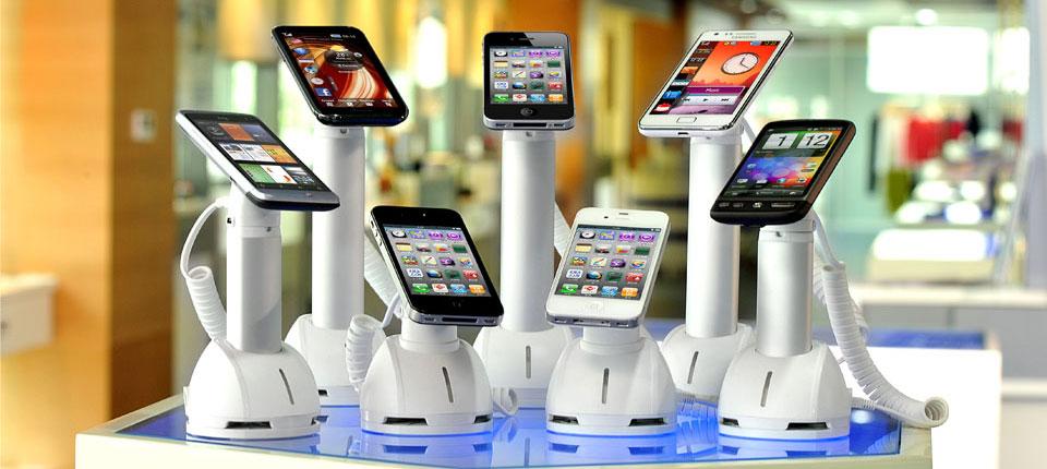 Warensicherung im Elektronik-Einzelhandel