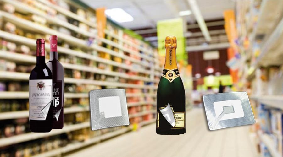 Warensicherung - Quellensicherung Supermarkt Lebensmittel