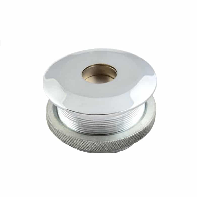 Warensicherung-Etikettenlöser-Einbau-Silber-Super-Countersunk